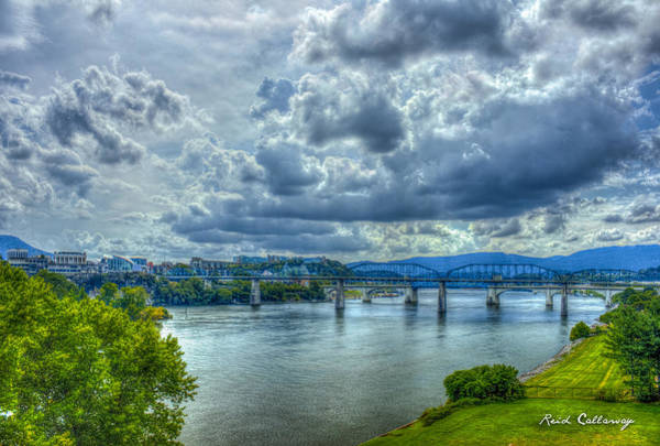 Camelback Mountain Photograph - Bridges Of Chattanooga Tennessee by Reid Callaway