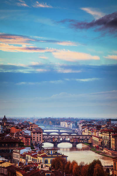 Wall Art - Photograph - Bridges Of Florence by Andrew Soundarajan