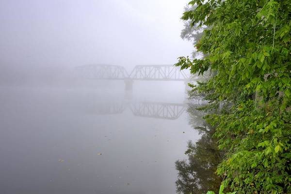 Coosa River Photograph - Bridging The Coosa by JC Findley
