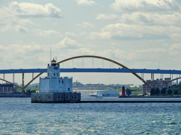 Wall Art - Photograph - Bridging The Milwaukee Harbor by Red Cross