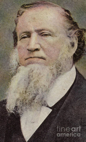 Church Of Jesus Christ Photograph - Brigham Young  by American School