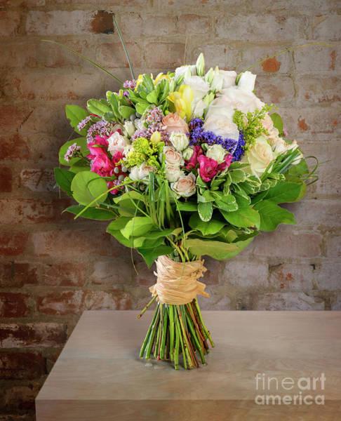 Floristry Photograph - Bright Bouquet Of Flowers by Viktor Birkus