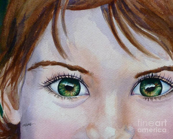 Painting - Bright Eyes by Michal Madison