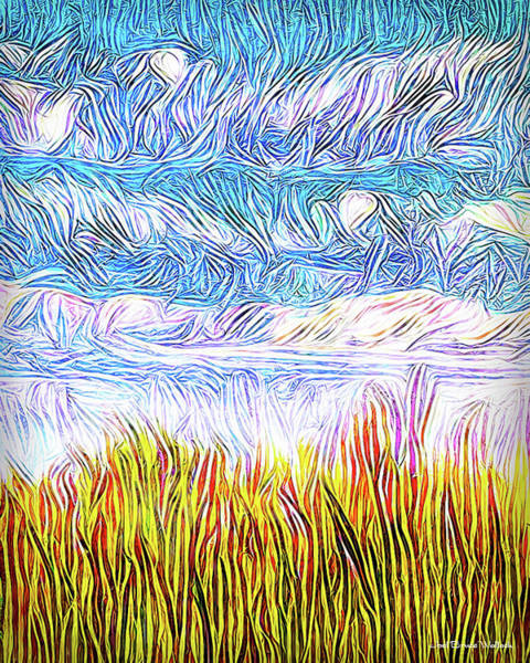 Digital Art - Bright Fields - 3 Of 3 by Joel Bruce Wallach