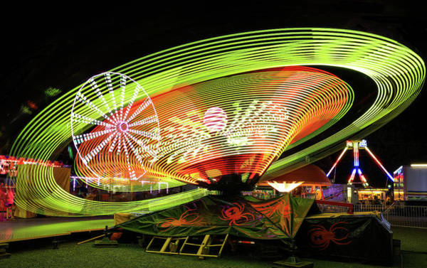 Photograph - Bright Lights At The Fair by Dan Sproul