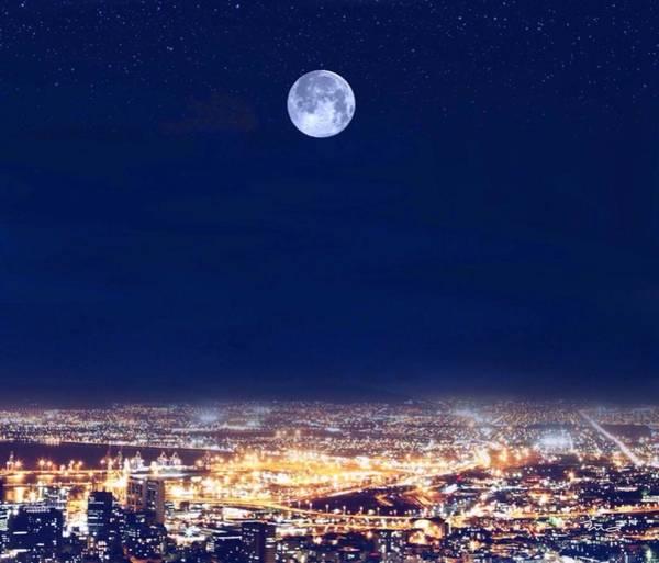Digital Art - Bright Lights Big City by Mark Taylor