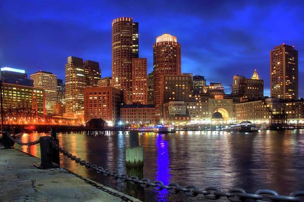 Photograph - Bright Lights Boston by Joann Vitali