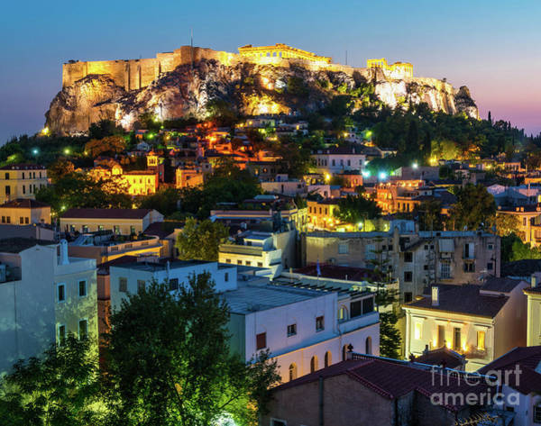Wall Art - Photograph - Bright Lights In Athens by DAC Photo