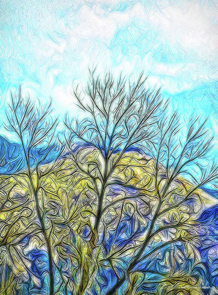 Digital Art - Bright Mountain Sunday by Joel Bruce Wallach