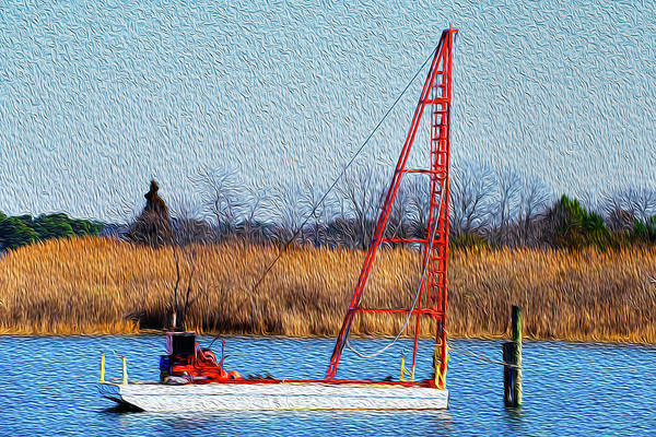 Photograph - Bright Paintery Barge by Dennis Dame
