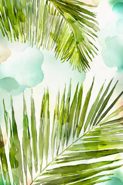 Wall Art - Painting - Bright Palm by Mauro DeVereaux