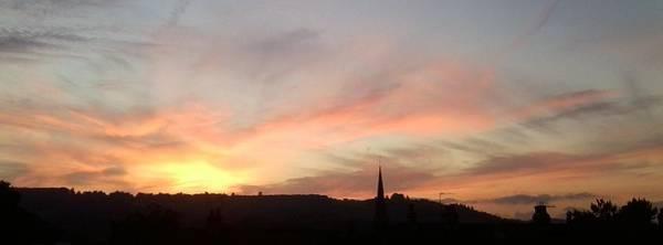 Photograph - Bright Sunset On Ranmore by Julia Woodman