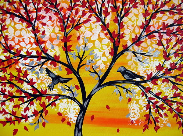 Framing Painting - Brighter Days by Cathy Jacobs