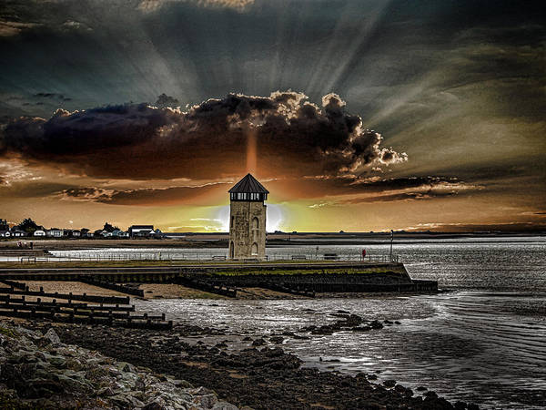 Essex Wall Art - Photograph - Brightlingsea Beach by Martin Newman