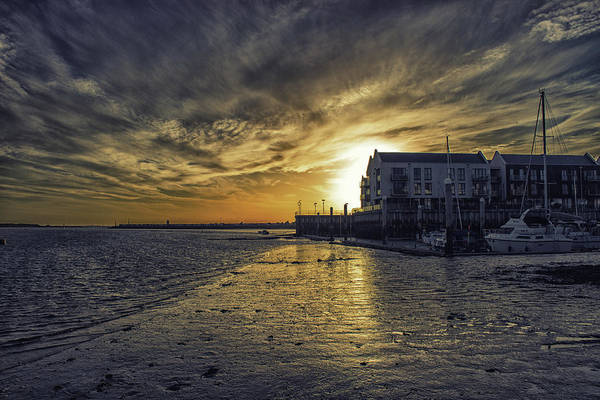 Essex Photograph - Brightlingsea Harbour by Martin Newman