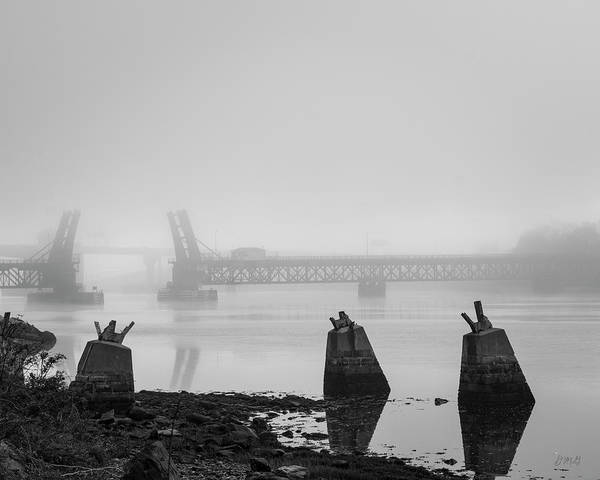 Photograph - Brightman St Bridge I Bw by David Gordon