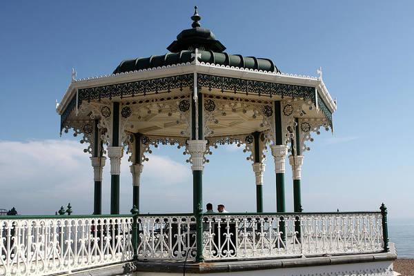 Photograph - Brighton Bandstand, England by Aidan Moran