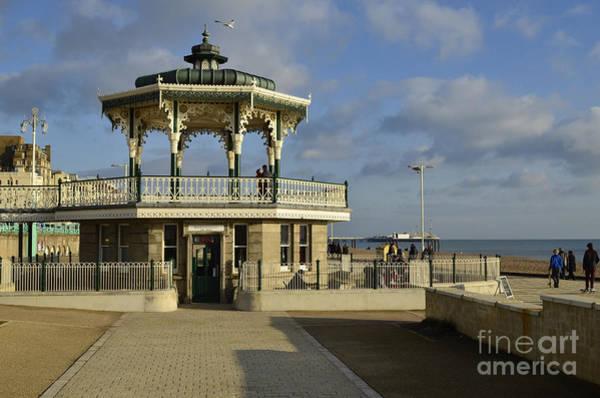Brighton Pier Photograph - Brighton Bandstand by Smart Aviation