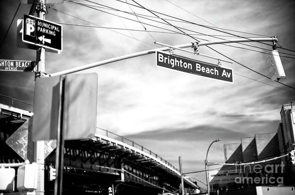 Wall Art - Photograph - Brighton Beach Avenue Clouds In Brooklyn by John Rizzuto