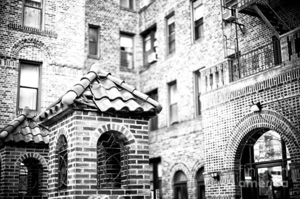 Wall Art - Photograph - Brighton Beach Brick Building Brooklyn by John Rizzuto