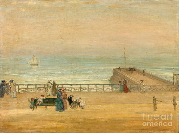 Brighton Painting - Brighton  by Celestial Images