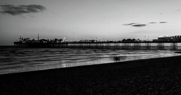 Photograph - Brighton Pier At Sunset Iv by Helen Northcott