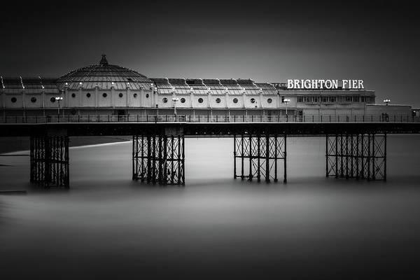 Brighton Pier Photograph - Brighton Pier, England by Ivo Kerssemakers