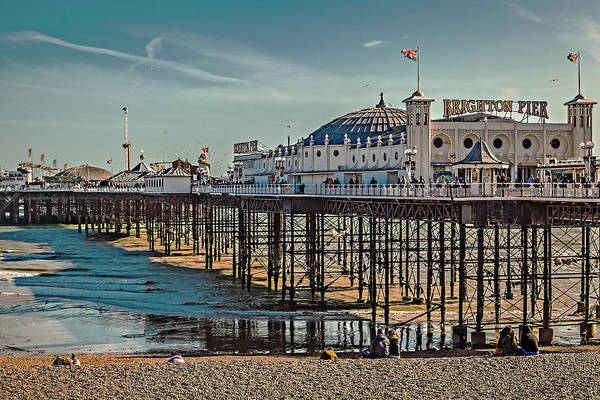 Photograph - Brighton Pier by Makk Black