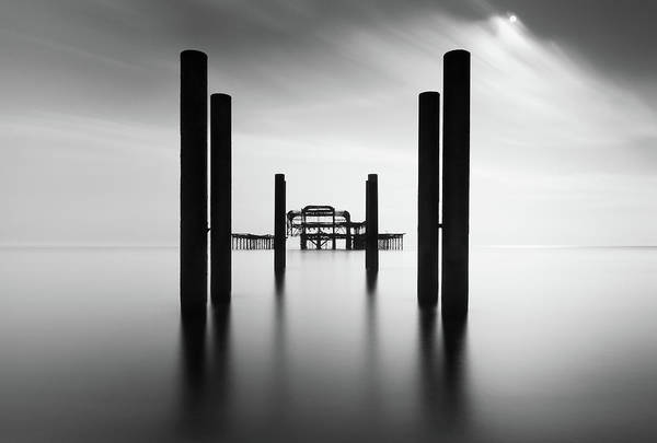West Photograph - Brighton Pier, The by Ivo Kerssemakers