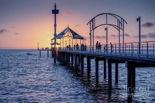 Photograph - Brighton Sunset by Ray Warren