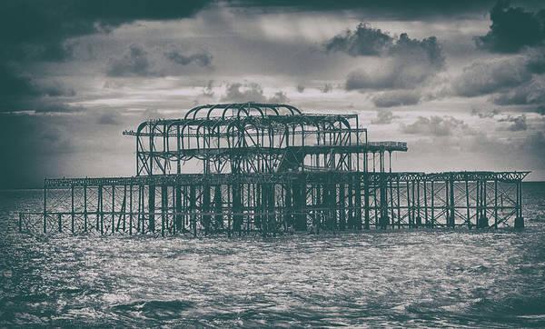 Brighton Pier Photograph - Brighton's Old Pier by Martin Newman