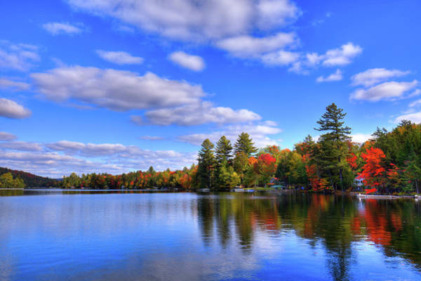 Photograph - Brilliant Color On 6th Lake by David Patterson