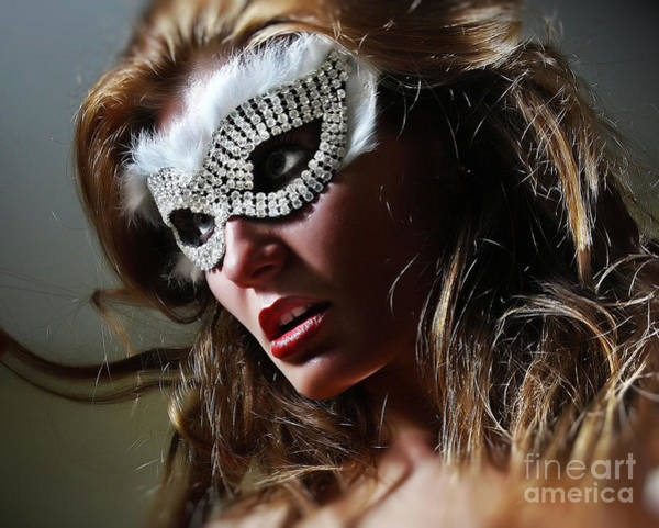 Photograph - Brilliant II Venetian Eye Mask by Dimitar Hristov