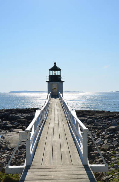 Marshall Point Lighthouse Photograph - Brilliant Light by Corinne Rhode