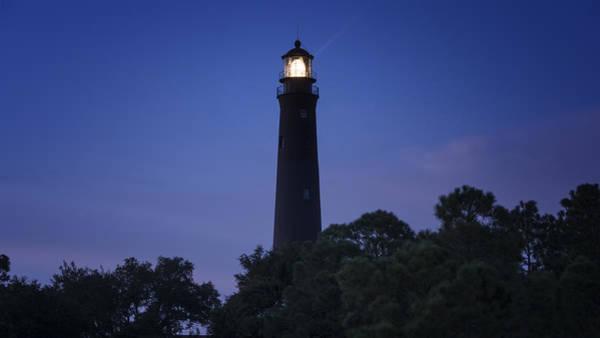 Photograph - Brilliant Pensacola Lighthouse by Joan Carroll