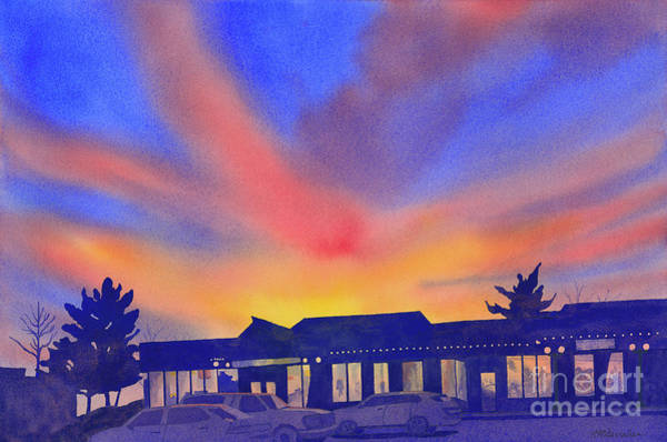 Wall Art - Painting - Brilliant Sky by Annette McGarrahan