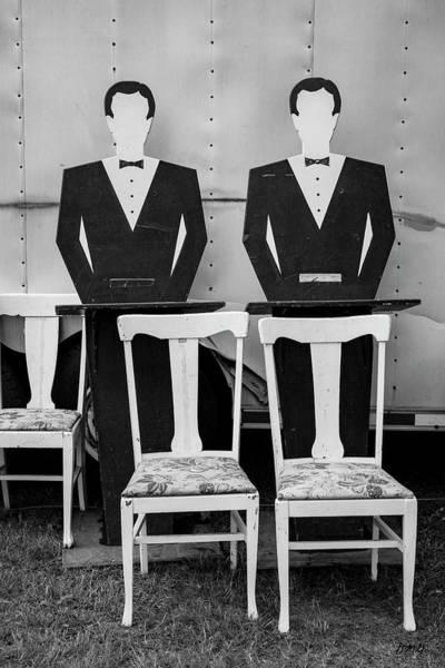Photograph - Brimfield I Bw by David Gordon
