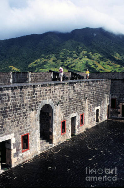 St Kitts Photograph - Brimstone Hill Fortress St Kitts by Thomas R Fletcher