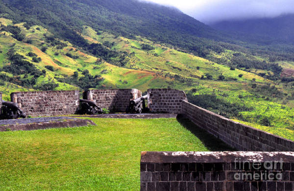 St Kitts Photograph - Brimstone Hill Fortress by Thomas R Fletcher