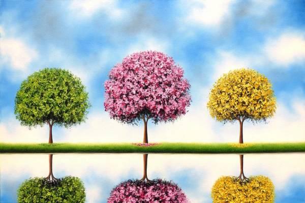 Wall Art - Painting - Bring Me Blue Skies by Rachel Bingaman