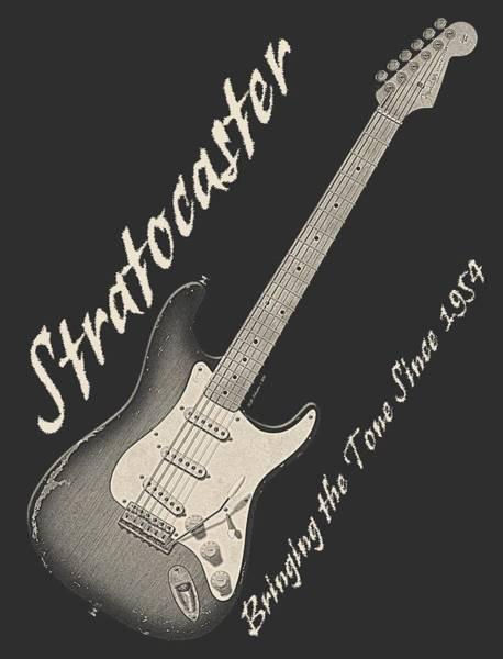 Strat Photograph - Bringing The Tone Strat Shirt by WB Johnston