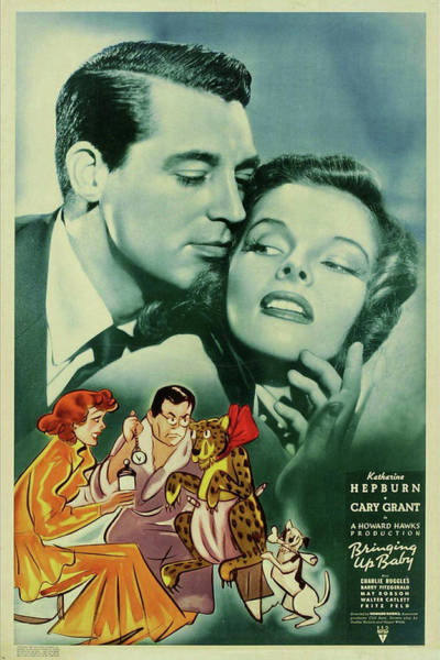 Mixed Media - Bringing Up Baby 1938 by Movie Poster Prints