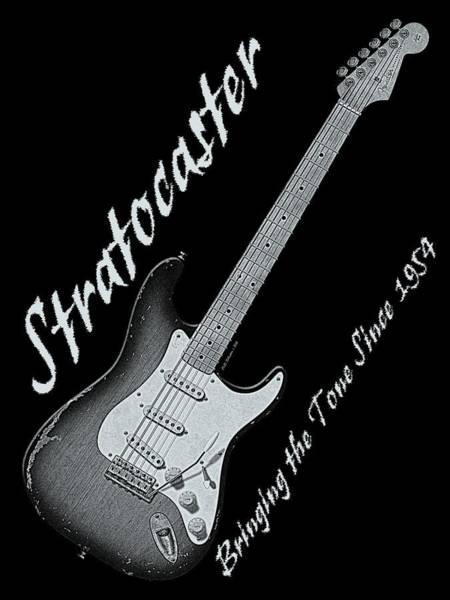 Strat Photograph - Brining The Tone Strat Shirt 2 by WB Johnston