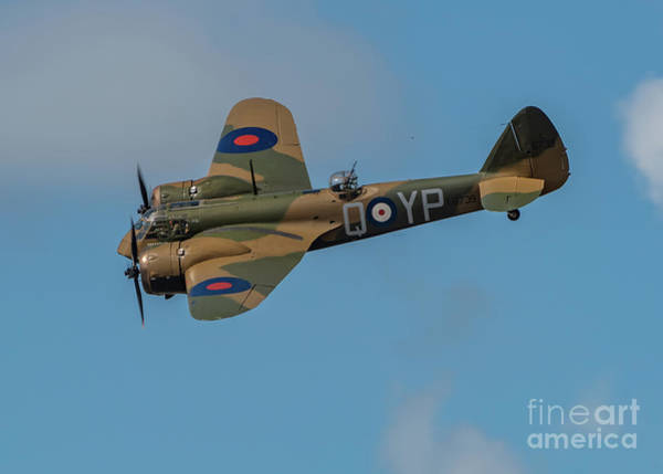 Photograph - Bristol Blenheim Mk.1 by Adrian Evans