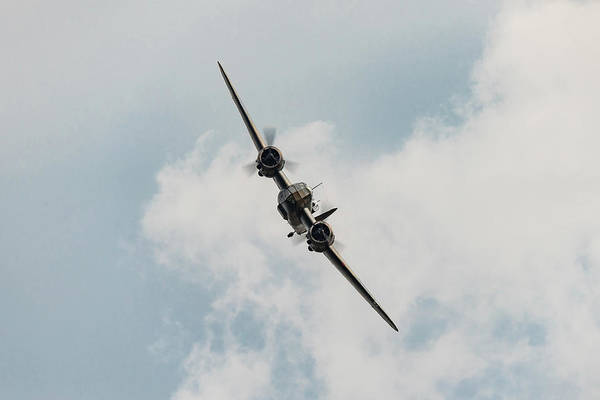 Photograph - Bristol Blenheim Turning by Gary Eason