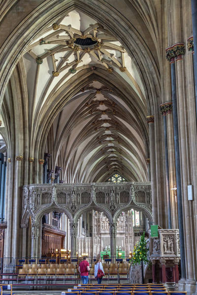 Bristol Photograph - Bristol Cathedral by W Chris Fooshee