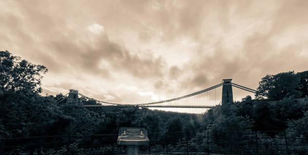 Photograph - Bristol Clifton Suspension Bridge At Golden Hour H by Jacek Wojnarowski