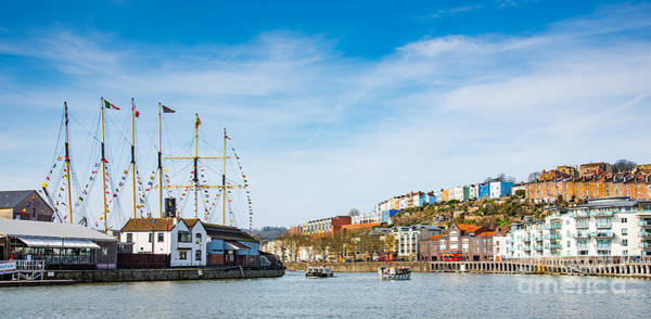 Photograph - Bristol Docks And Ss Great Britain by Colin Rayner