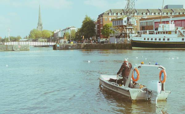Photograph - Bristol Harbour Master by Jacek Wojnarowski