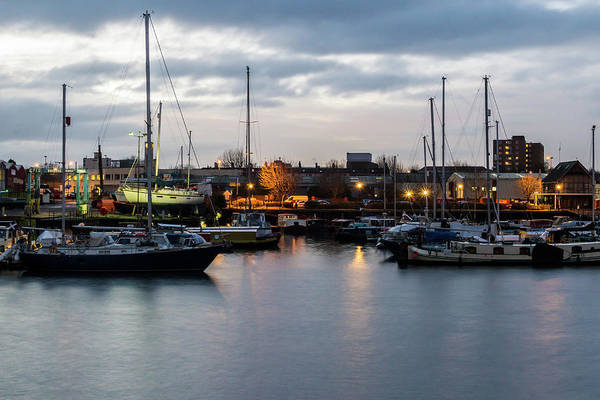 Photograph - Bristol Marina A In Early Morning by Jacek Wojnarowski